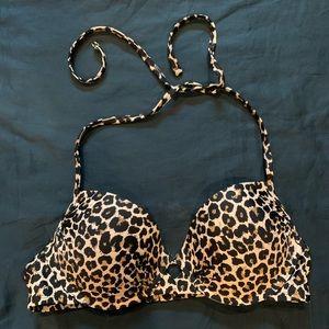 Target Leopard Print Bikini Top